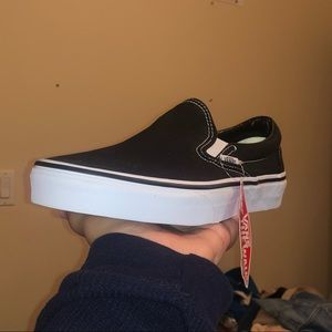 Classic Black Slip-On Vans